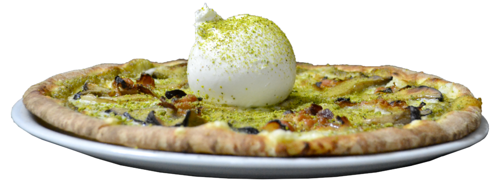 Ara dell'Etna pizza pistacchio e burrata sicilia food porn